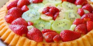 TORTAS. Saborosa torta de frutas.